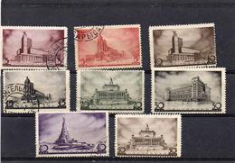 Russie 1937 -1 Er Congrés Panuniniste Série   YT 596/603 Obl