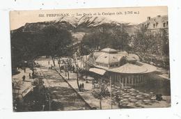 Cp , 66 , PERPIGNAN , Les Quais Et Le CANIGOU , Voyagée 1926 - Perpignan