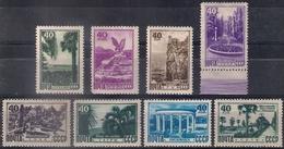 Russia 1949, Michel Nr 1301-08, MLH OG