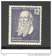 DDRMi.Nr.317**/ Turnvater Jahn, 1952, (Turnerbewegung)