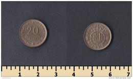 Guinea-Bissau 20 Centavos 1973 - Guinea-Bissau