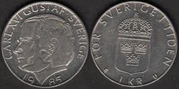 Sweden - 1 Krona 1985 - Sweden