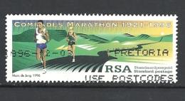 SUD AFRICA  1996 The 75th Anniversary Of Comrades Marathon  USED - Sud Africa (1961-...)