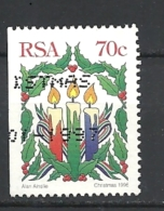 SUD AFRICA  1996 Christmas IMPERFORATED  FROM CARNET   USED - South Africa (1961-...)