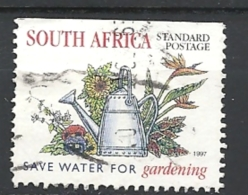 SUD AFRICA  1997 National Water Conservation - Imperforated On 1 Or 2 Sides And With Or Without Safety Perforatio   USED - South Africa (1961-...)