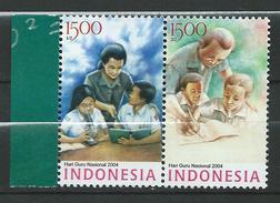 Indonesia 2004 National Teachers' Day.MNH - Indonésie
