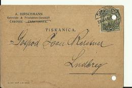 CROATIA  --  TISKANICA   1932  --  CAKOVEC  --  A. HIRSCHMANN  --  GETREIDE & PRODUKTEN - GESELSCHAFT