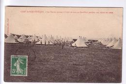 59 Camp Militaire D'Ors Bois L'Evêque Tentes CPA 1912 - France