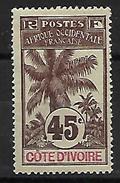 Cote D'Ivoire. 1906 N°30 N* - Côte-d'Ivoire (1892-1944)