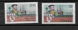 FRANCE 2307 CANADA 869 Neufs**