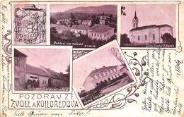 TCHEQUIE / Pozdrav Z Zvole A Kolloredova - Tchéquie
