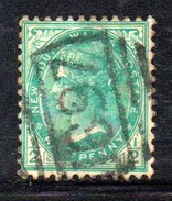 XP2546 - NEW SOUTH WALES , 1/2 Penny Usato . Annullo - 1850-1906 New South Wales