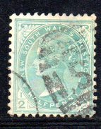 XP2549 - NEW SOUTH WALES , 1/2 Penny Usato . Annullo - 1850-1906 New South Wales