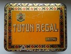 1920s - Romania TUTUN REGAL - 100g. Variant - Boites à Tabac Vides