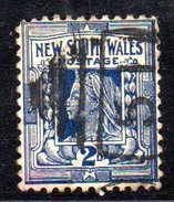 XP2551 - NEW SOUTH WALES , 2 Pence Usato . Annullo. - 1850-1906 New South Wales