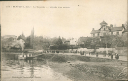 VERTOU - La Chaussée à L'arrivée D'un Bateau - Frankrijk