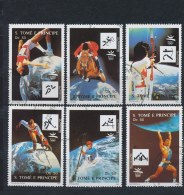 S Tomé En Principe/S Tomé And Principe/S Tomé Et Principe/S Tomé Und Principe 1992 Mi: 1317-1322 (Gebr/used/obl/o)(1358) - Sao Tome En Principe