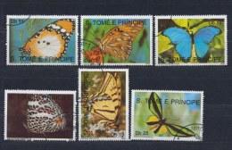 Sao Tomé E Principe 1990 Mi: 1191-1196 (Gebr/used/obl/o)(1360) - Sao Tome En Principe