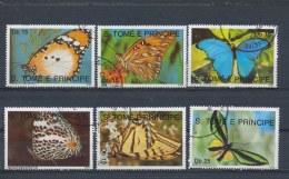 Sao Tomé E Principe 1990 Mi: 1191-1196 (Gebr/used/obl/o)(1361) - Sao Tome En Principe