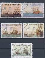 Sao Tomé E Principe 1989 Mi: 1129-1133 (Gebr/used/obl/o)(1390) - Sao Tome En Principe