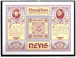 NEVIS   BF 25  * *   ( Cote 7.50.e ) Poste Timbre Sur Timbre