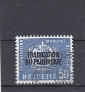 Suisse - Obl - OMS/Eradication Paludisme - Année 1962 - YT 429