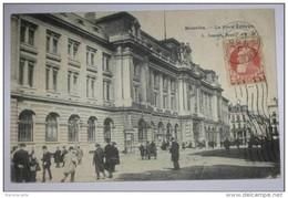 M845 *   Belgique Bruxelles La Poste Centrale 1907   Petit Défaut Carte Début D´ouverture Eb 3 Parties Suicide - Brussel Nationale Luchthaven