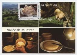 T.D. Alsace Comme J'aime Avril 2009 Issenheim 68 Munster Carte Illustrée + Mon Trimbamoi Collector - Alsace-Lorraine