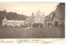 Belgique-België CP-PK Vallée De L'Amblève Château Ancion Verso C.Aywaille 1905 V.Engis C.d'arrivée PR4173