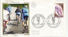 ANDORRA. Championnat Du Monde Cycliste Sur Route 1980 à Sallanches (74) . FDC  1980 - Ciclismo