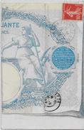 CPA Billet De Banque Banknote Circulé En 1909 - Monete (rappresentazioni)