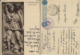 FRANCHIGIA WWII POSTA MILITARE 39 1942 RAGUSA CROAZIA X CAREGGINE CHIMICA - 1900-44 Vittorio Emanuele III
