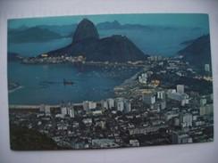 Brazilië Brasil Brasilia Rio De Janeiro City And Mountain - Rio De Janeiro