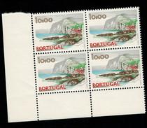 Portogallo Portugal 1972 Vedute E Monumenti 10 Esc In Quartina   ** MNH - 1910 - ... Repubblica
