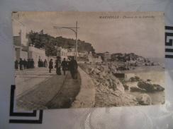 MARSEILLE  -  CHEMIN DE LA CORNICHE - Endoume, Roucas, Corniche, Plages