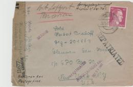 III-138 / P.o.W. Mit 40 Pfg. Hitler Für Luftpostzuschlag
