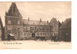 Belgique-België CP-PK Les Environs De Waremme Château D'Otrange Neuves-Nieuw-Mint PR4177 - Borgworm