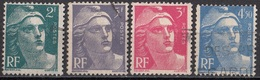 536 Francia 1945-47 Marianne Di Gandon Used