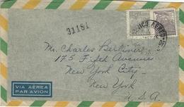 Brazil - Registered Cover Sent To United States 1947   H-1003 - Brazil