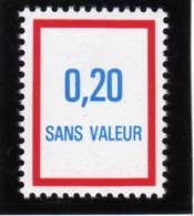 FRANCE FICTIF N° F242 ** Timbre Neuf Gomme D´origine Sans Trace De Charnière - TB - Ficticios