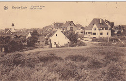Knokke Zoute - L'Eglise Et Villas - Kerk En Villas (1932)