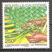 Neukaledonien Nouvelle Caledonie 2014 L'Artisanat Kanak Le Tressage Michel No. 1662 MNH Postfr. Neuf - Neukaledonien