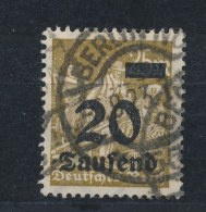 Duitse Rijk/German Empire/Empire Allemand/Deutsche Reich 1923 Mi: 281 Yt: 257 (Gebr/used/obl/o)(1401) - Duitsland