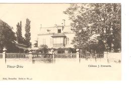 Belgique-België CP-PK Vieux-Dieu Château J.Everaerts  Neuves-Nieuw-Mint PR4183 - Mortsel