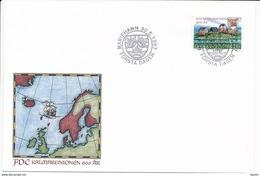 Mi 129 FDC / 600th Anniversary Of The Kalmar Union Politics History - 30 May 1997 - Aland