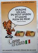 DEPLIANT FLYERS CONCOURS COMME A CASA - PETIT SPIROU TOME & JANRY 1993 - Libri, Riviste, Fumetti
