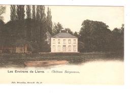 Belgique-België CP-PK Les Environs De Lierre - Lier Château Bergmann Neuves-Nieuw-Mint PR4187 - Lier