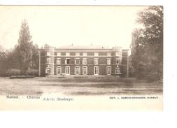 Belgique-België CP-PK Hannut Château D'Avin(Hesbaye) Neuves-Nieuw-Mint PR4188 - Hannut