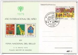 LEON MAT ESPECIAL 1979 AÑO INTERNACIONAL DEL NIÑO