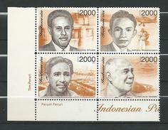 Indonesia 2003 Indonesian Prominent Figures.engineer.scientist.pilot.MNH - Indonésie